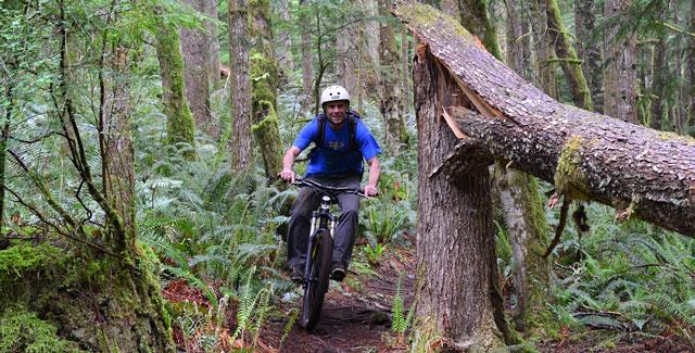 Mountain Bike Trail Map Quadra Island
